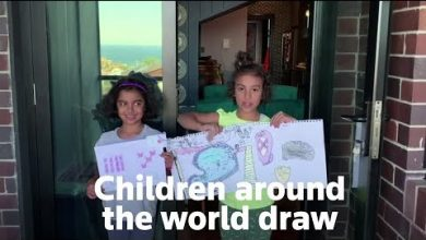 Photo of Children in lockdown draw what they miss most