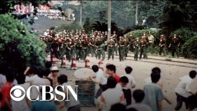 Photo of Tiananmen Square protesters recount massacre 30 years later