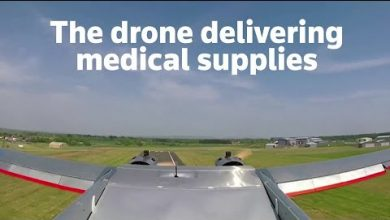 Photo of Drone dubbed Land Rover of the sky delivers medical supplies