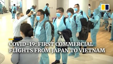 Photo of As Covid-19 travel restrictions ease, first commercial planes depart from Japan for Vietnam