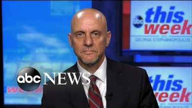 Photo of 'I can't predict when a vaccine will be available': Dr. Stephen Hahn   ABC News