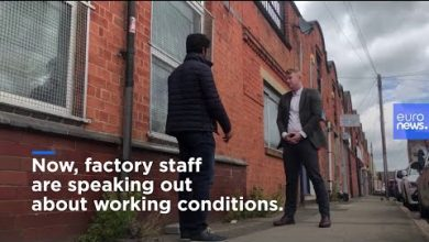 Photo of Garment factory worker speaks out about working conditions in Leicester