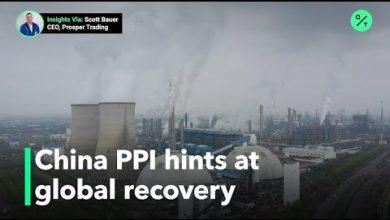 Photo of China factory deflation easesbut coronavirus hampers global demand