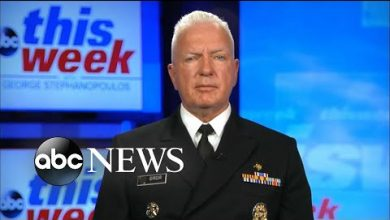 Photo of 'There's no downside to wearing a mask': Adm. Brett Giroir | ABC News