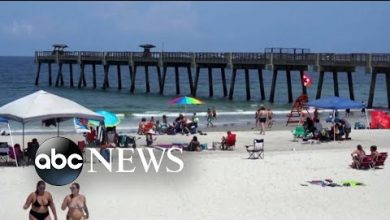 Photo of Florida among 12 states seeing record COVID-19 cases, many traced to large gatherings