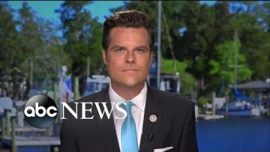 Photo of Rep. Matt Gaetz: 'People should wear masks when they're in public'