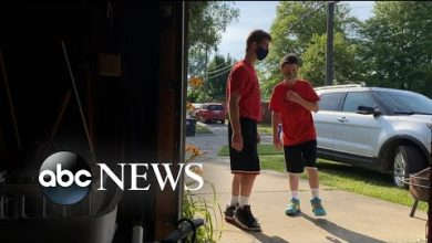 Photo of Brothers work together to help neighbors in need