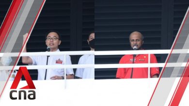 Photo of GE2020: PAP, SDP candidates for Bukit Panjang SMC address supporters on Nomination Day