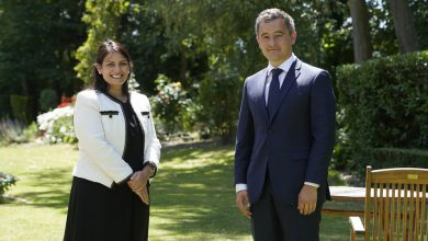Photo of Priti Patel and new French Interior Minister agree action on Channel crossings