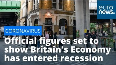 Photo of Bleak Market: Official figures set to show Britain's Economy has entered recession