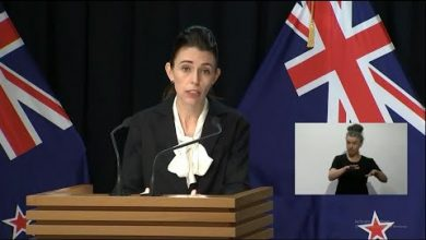 Photo of Ardern: Going Hard and Early Is Best Course Against Virus