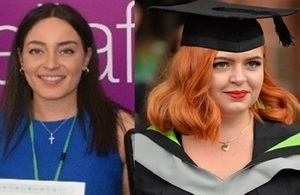 Image of Holly and Flo side by side
