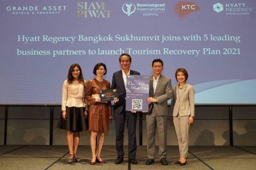 Hyatt Regency Bangkok and 5 Partners Launch One Million Baht Privilege Club