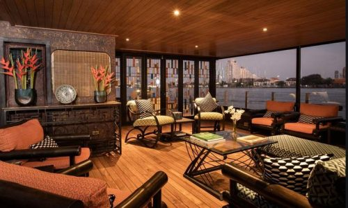 Journey to Mindfulness by Loy Pela Voyages on Bangkok's Chao Phraya River