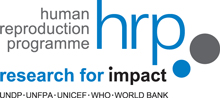 Logo of the HRP special programme