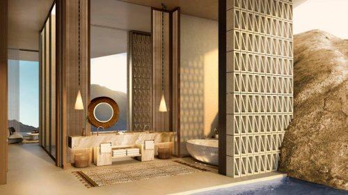 The Red Sea Development Company Unveils Spectacular Desert Rock Mountain Resort